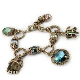 Nautical Beachcomber Charm Bracelet