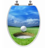 3D Series Elongated Golf Toilet Seat