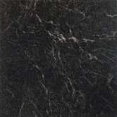 Nexus 12&quot; x 12&quot; Vinyl Tile in Black With White Vein Marble