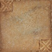 Nexus 12&quot; x 12&quot; Vinyl Tile in Beige Clay With Motif