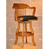 Burnished Oak Champion Nostalgia Barstool