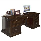 Fulton Double Pedestal Executive Desk