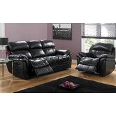 Madras Bonded Leather Reclining Seating Group