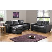 Ruben Bonded Leather Seating Group
