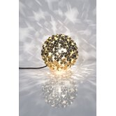 Orten'Zia One Light Table Lamp in Gold