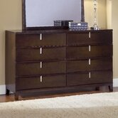 Legend Wood 8 Drawer Standard Dresser