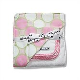 Hooded Towel Set in Tag Pink
