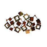 Abstract Squares Metal Wall Art