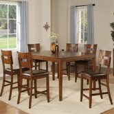 Palos Verdes 7 Piece Counter Height Dining Set