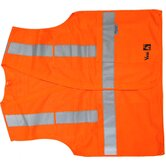 Fire Resistant 5 Point Tear Away Safety Vest