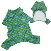 Adorable Poly / Cotton Lightweight Dog Pajamas