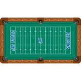 NCAA Football Field Recreational Billiard Table Felt