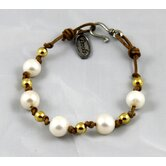 Full Circle Pearl Bracelet