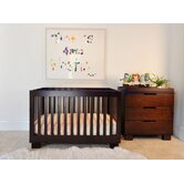 Modo Three Piece Convertible Crib Nursery Set