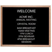 Framed Letter Board Message Center