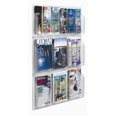 Clear-Vu Combination Pamphlet and Magazine Display
