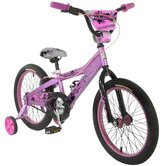 "Girls 18"" Lark BMX Bike With Training Wheels"