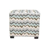 Denton Cotton Square Cube Ottoman