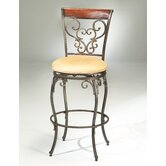 Knightsbridge 30&quot; Swivel Bar Stool