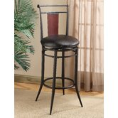 Midtown 30&quot; Swivel Wood Back Bar Stool