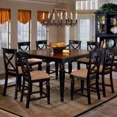 Northern Heights 9 Piece Counter Height Dining Set