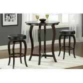 Wilmington 3 Piece Bar Height Bistro Set