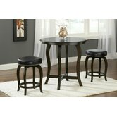 Wilmington 3 Piece Counter Height Pub Set
