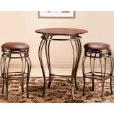 Montello Pub Table with 30&quot; Backless Bar Stools