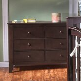 Salerno 6 Drawer Dresser
