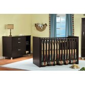 Milano 3-in-1 Convertible Crib Set
