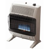 20000 BTU Liquid Propane Blue Vent Free Wall Mount Heater