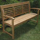 Teak Westerly Garden Bench