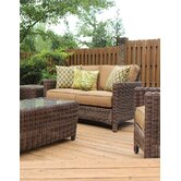 Del Ray Wicker Loveseat