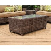 Del Ray Wicker Coffee Table