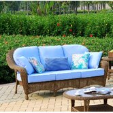 Savannah Wicker Sofa