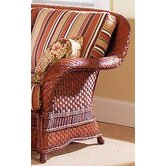 South Sea Rattan Accent Chairs