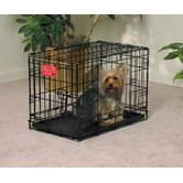 Life Stages Fold &amp; Carry Double-Door Dog Crate