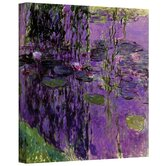 Claude Monet ''Lavender Water Lillies'' Canvas Art