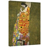 Gustav Klimt ''Hopeful'' Canvas Art