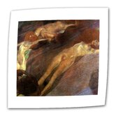 "Gustav Klimt ""Moving Water"" Canvas Wall Art"