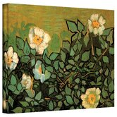 Vincent Van Gogh ''Wild Roses'' Canvas Art