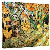Vincent Van Gogh ''The Road Menders'' Canvas Art