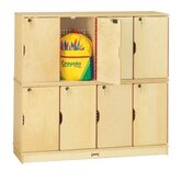 ThriftyKYDZ Double Stack Lockable Lockers