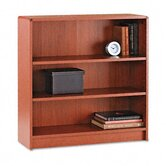 1890 Series Bookcase, 3 Shelves, 36W X 11-1/2D X 36-1/8H