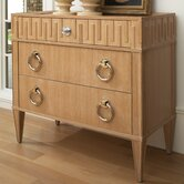 French Key Chest in Light Finish