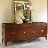French Key Everything Cabinet in Dark Oak