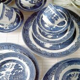 Willow Blue 5 Piece Place Setting