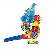 Tin Rooster Horn Toy