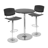 3-Piece 28&quot; Pub Table Set