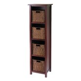Milan Tall Storage Shelf with Baskets